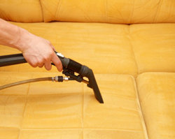 Steam Cleaning a Couch