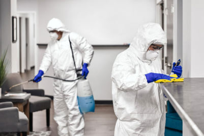 coronavirus sanitizing cleaning service