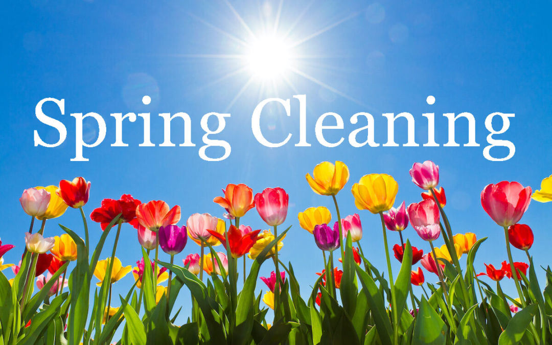 Spring Cleaning Checklist – It's That Time of Year Again