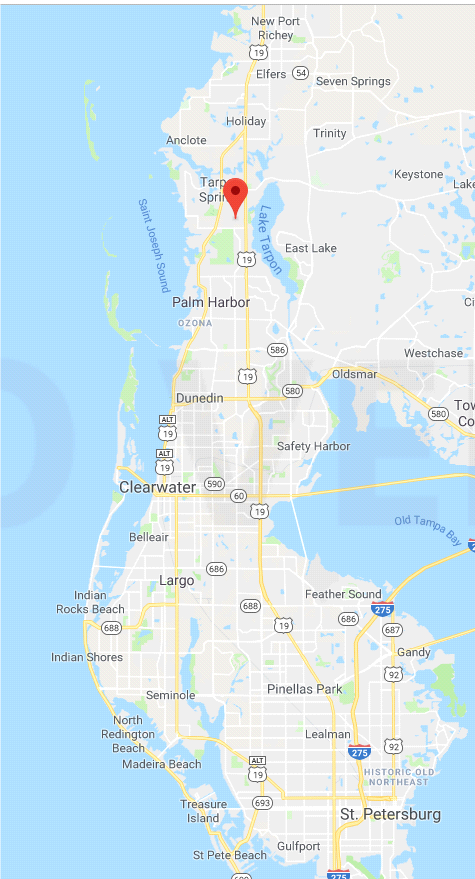 We serve all of Pinellas County Florida